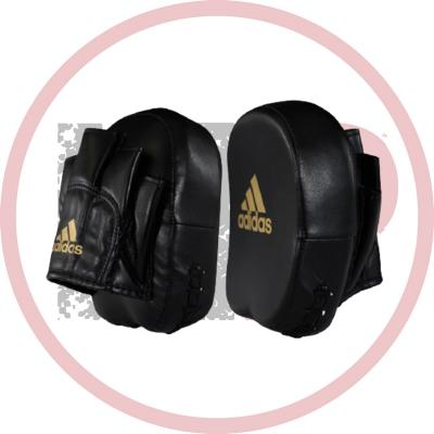 Тренерские лапы Adidas Short Focus Mitts